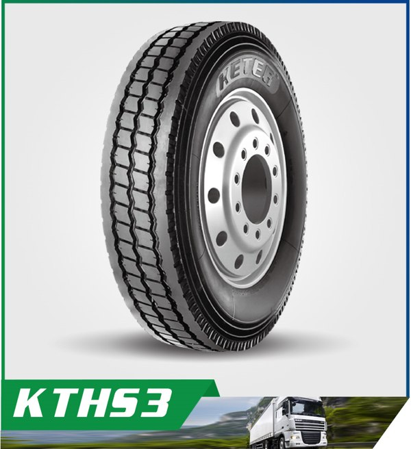 KETER TBR Truck Tyres - 3-Rib Pattern for Popular Size 1200R24