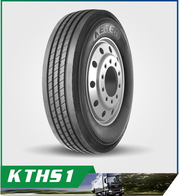 KETER TBR Truck Tyres-Rib Pattern with Excellent Steering Performance