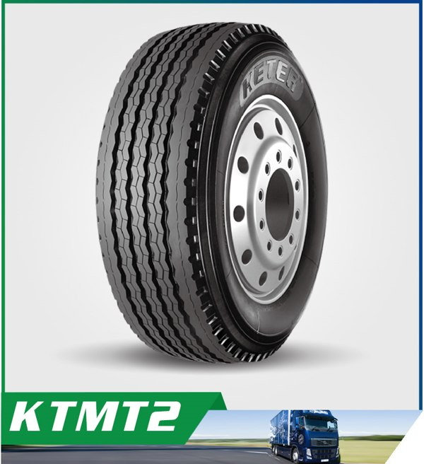 385/65R22.5 KTMT2 with Water Discharging and Advanced Noise Reduction Design