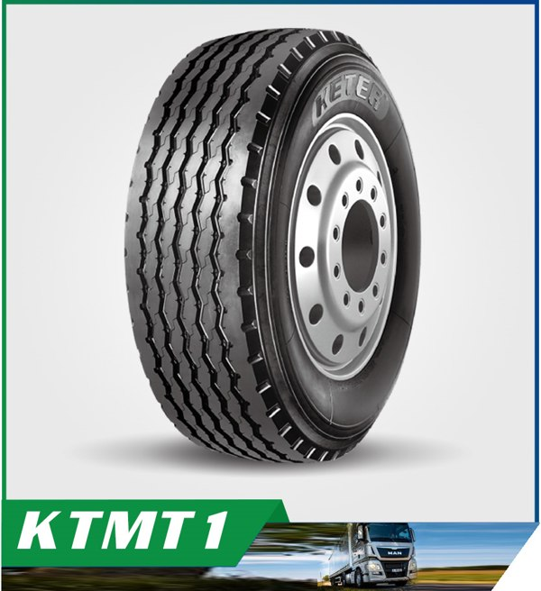 385/65R22.5 KTMT1 Pattern with Super Abrasion Resistance and Excellent Fuel Efficiency