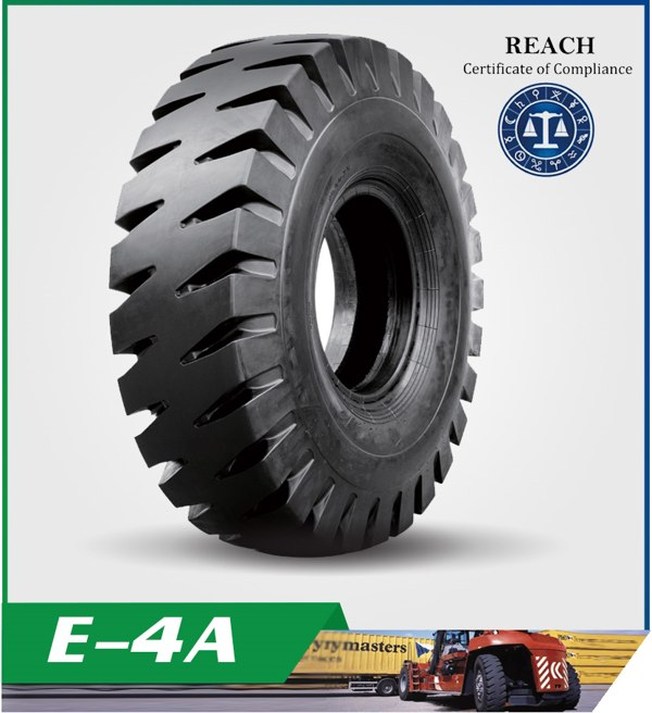 E4-A Pattern For Earthmover Tires