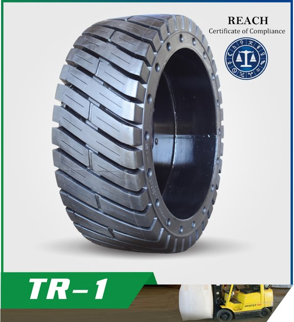 TR-1 Molded-On Solid Tires
