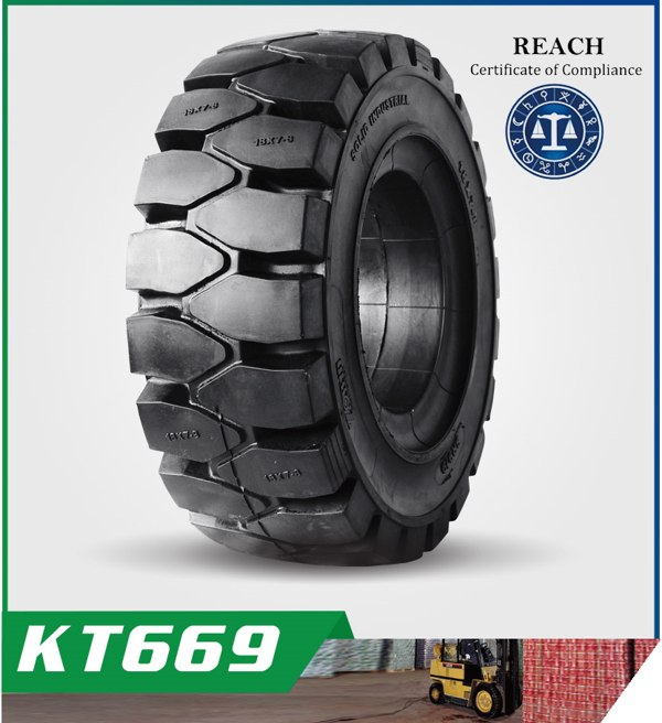KT669 Common and Popular Pattern for Solid Tyres
