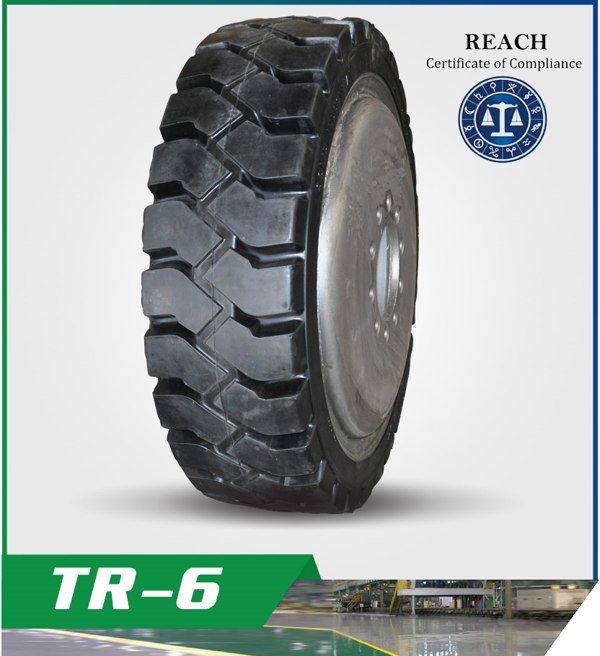 Chinese High Quality Solid  Tires TR-6
