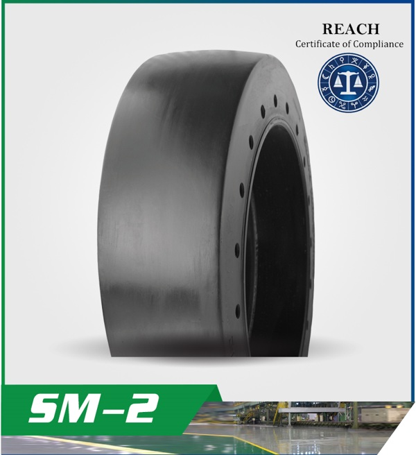 SM-2 Pattern for MOLDED-ON SOLID TIRES
