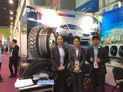 KETER TEAM IN THE CANTON FAIR